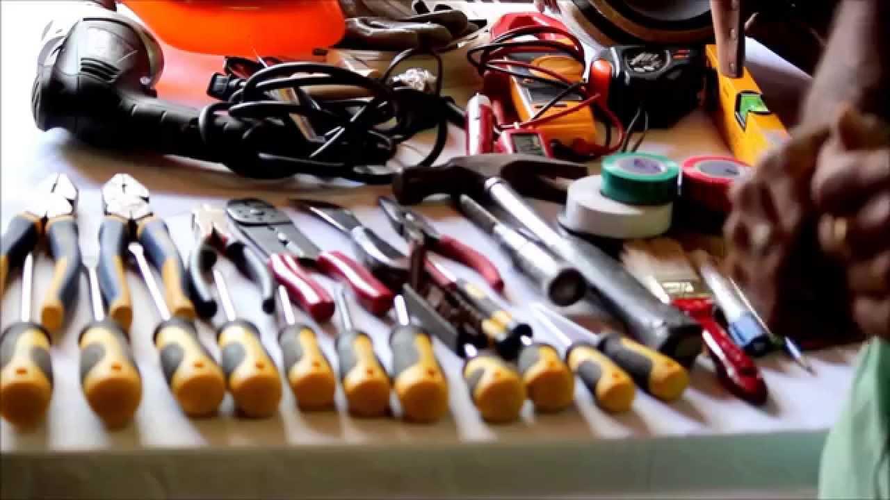 Herramientas basicas para electricista youtube for Herramientas de un cocinero