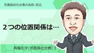 芳香族化合物③(芳香族炭化水素の名称,反応)