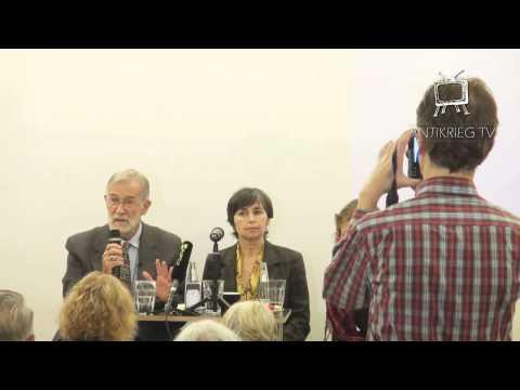 Berlin 16.9.15 (Deutsch) Ehem. CIA-Analysten Ray McGovern u. Elizabeth Murray - World Beyond War