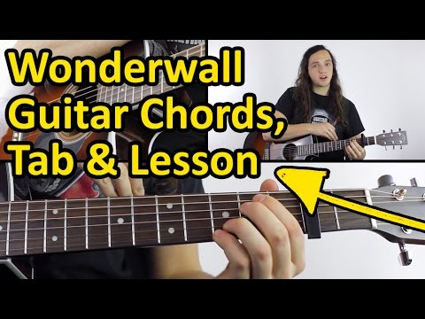 How to play Wonderwall | Chords & Tabs - YouTube