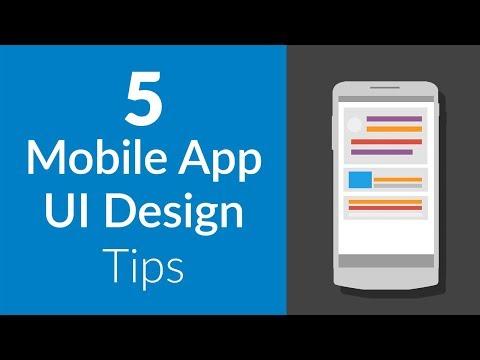 5 Design Tips For Mobile App UI (2018)