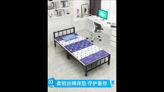 접이식 야전 침대 간이 사무실 수면 베드 휴대용 낮잠 …