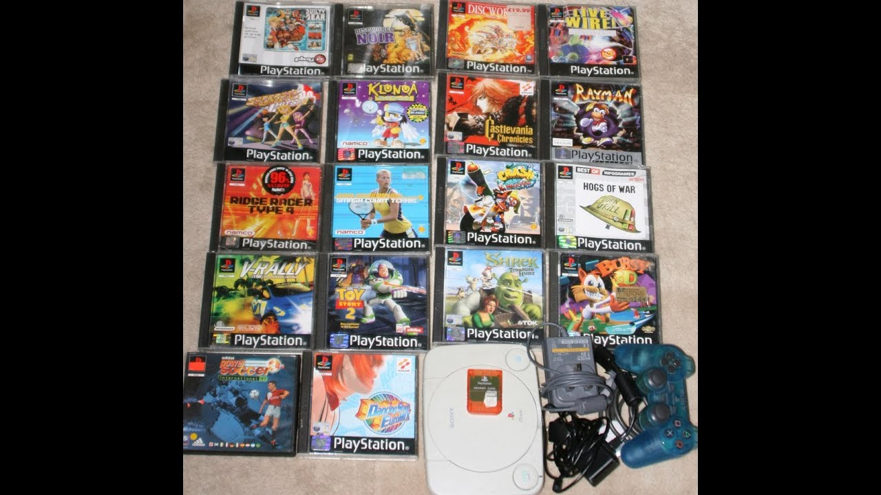 games playstation 1
