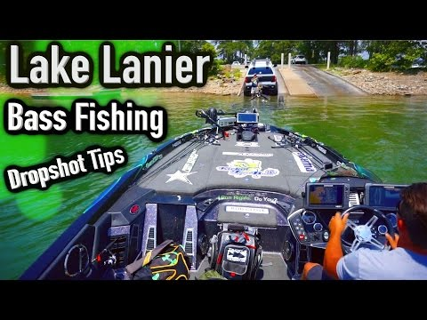Lake Lanier Bass Fishing ~ Dropshot Tips and Tricks ~ Commentary