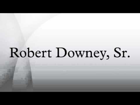Robert Downey, Sr.
