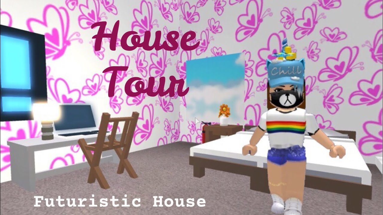 FUTURISTIC HOUSE TOUR (Roblox Adopt Me) | Its SugarCoffee ...