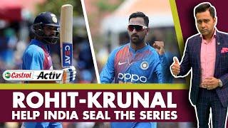 #WIvIND: ROHIT-KRUNAL help INDIA seal the SERIES   Castrol Activ #AakashVani