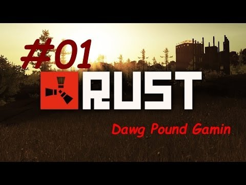 RUST Episode 1 New Beginings Commentary w/ RyanFive Let's Pl