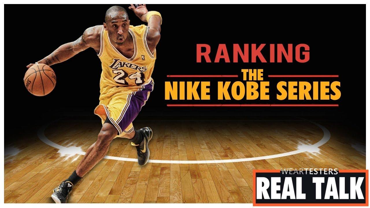 531a1a7f8ff Ranking the Nike Kobe Series ...