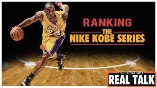 b6f1ea5fcda1 What s inside Steph Curry s Basketball Shoes  10 29. Ranking the Nike Kobe  Series