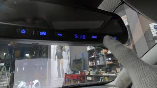 BMW 320D 룸미러형 하이패스룸미러 시공 영상입니다…