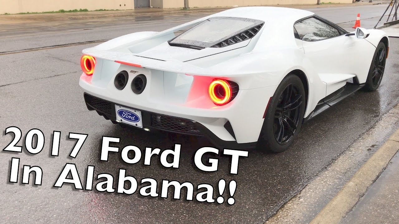 We Found A  Ford Gt Exhaust And Revs