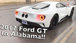 We Found A 2017 Ford GT!! Exhaust And Revs