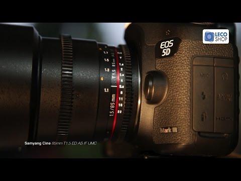 Revisão Da Lente Samyang Cine 85mm T1.5