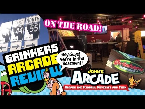 Grinker's Grand Palace Classic Arcade Tour and Review - Eagle, Idaho - Arcade Outsiders