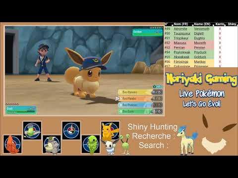 Live Pokémon Let's Go Évoli - Épisode De Shiny Hunting