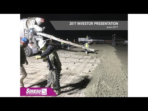 Somero (SOM) Investor presentation June 2017