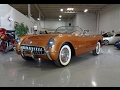 1955 Chevrolet Corvette Roadster in Copper Paint & V8 Engine Sound - My Car Story with Lou Costabile