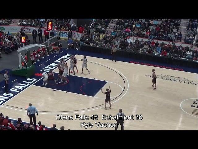 Game Highlights Boys' Varsity: Glens Falls 77 vs Schalmont 56