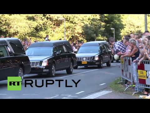 Netherlands: MH17 bodies arrive in Hilversum for identification process