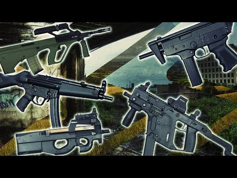 TOP 7 Submachine Guns (Best SMG)