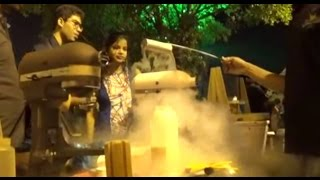 Street Foods Of India | Cool Nitrogen Ice Creams At The 'Streets Of India' Festival | Part 11
