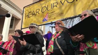 NM Women's Chorus Clip 1 - Women's March On Washington Santa Fe
