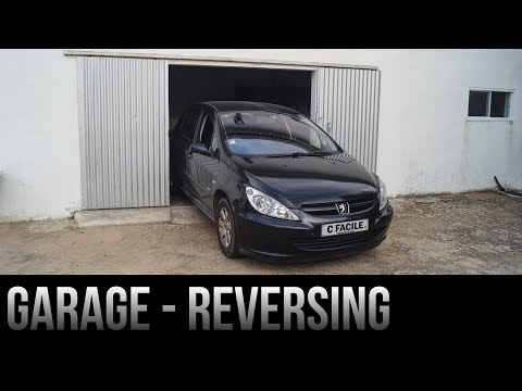How To Park In a Garage / Tight Space - In Reverse