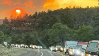 Backbone Fire continues to grow