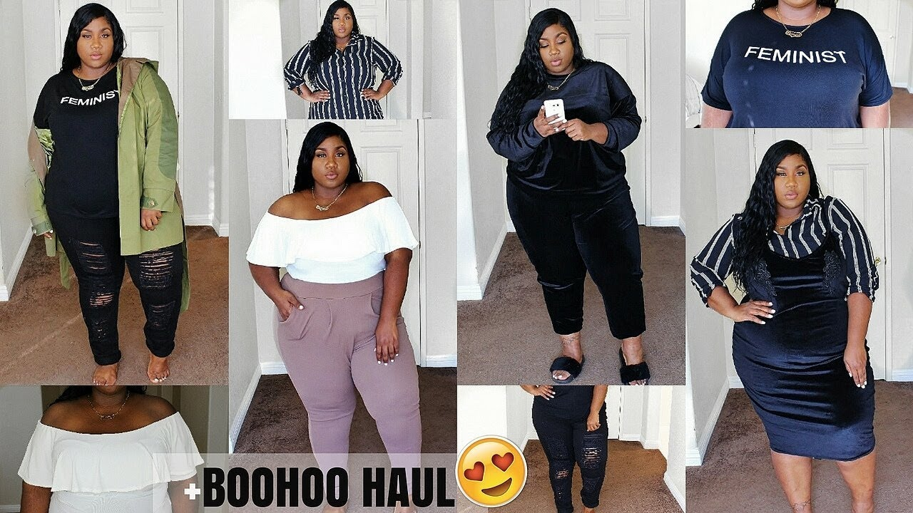 851aee694fefc BOOHOO TRY ON HAUL! | FALL OUTFIT IDEAS | PLUS SIZE FASHION - YouTube