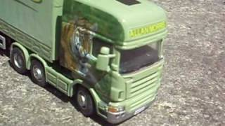 1 50 scale allan morris tiger cab and trailer code 3