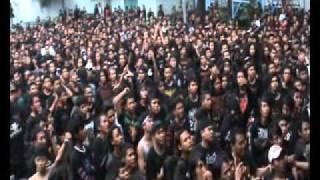 "TRAUMA - (Indonesia) ""Human Suffering+Pelangi Hitam"" live @ JAKARTA DEATHFEST 2012"
