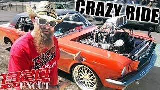 Fred Risks his Life in a 1000hp MUSTANG! (Summernats:3)