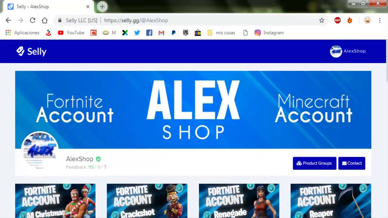 Fortnite Cheapest Account Shop Selly Gg Verified Renegade