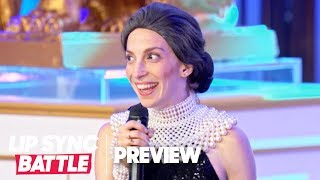 "Molly Bernard as Ruth Bader Ginsburg Performs ""Don't Rain on My Parade"" 