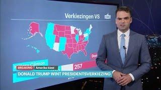 Verkiezingen VS 2016: Donald Trump wordt president