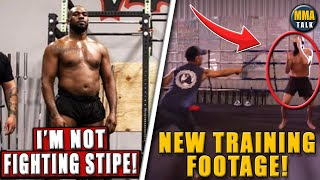 Jon Jones REFUSES to fight Stipe Miocic, NEW FOOTAGE of Diego Sanchez-Joshua Fabia training, Hardy