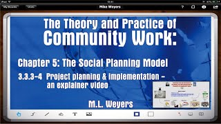 MLW Ch5 Project planning in community work (Social Work - Macro Practice)