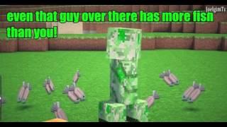 Minecraft Machinima - Почему криперы боятся кошек? [Heist]