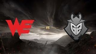 Team WE ( WE ) vs G2 Esports ( G2 ) 3. Maç | MSI 2017 Yarı Final - Final Aşaması