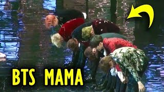 BTS MAMA Best Moments & Reactions