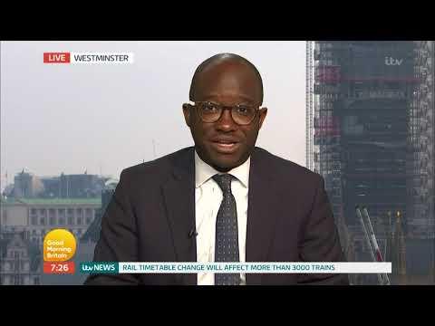 Sam Gyimah Talks Football With Piers | Good Morning Britain