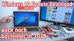 Windows 10 Update Download und Lizenz noch kostenlos in 2020 - [4K Video]