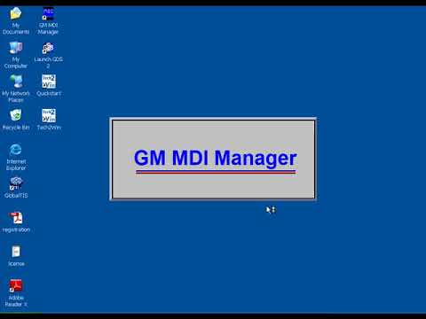 How to set GM MDI WIFI Multiple Diagnostic Interface?