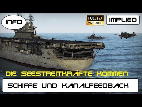 War Thunder Ships / die Schiffe kommen und Kanal Feedback 2000 Abos