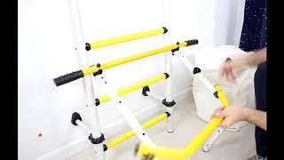 Инструкция по установке шведской стенки Kampfer