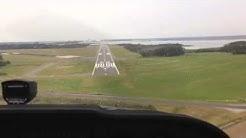 Landing a Cessna 172. Morehead city North Carolina