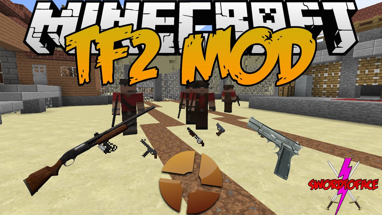 Скачать Team Fortress 2 для Minecraft 1.7.10