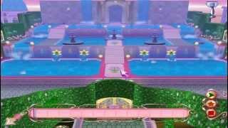 Водопады  Принцессы Хэдли  Игра Барби / Barbie 12 Танцующих принцес