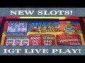 IGT NEW RED HOT HAYWIRE GAMES & SWAG!!!!!!| WILD BILL | DOUBLE TOPAZ | AS GOOD AS GOLD